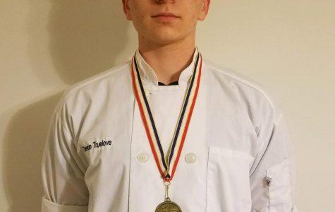 Devon Truelove Wins in Culinary at Skills USA