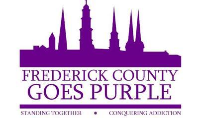 Frederick Goes Purple Logo