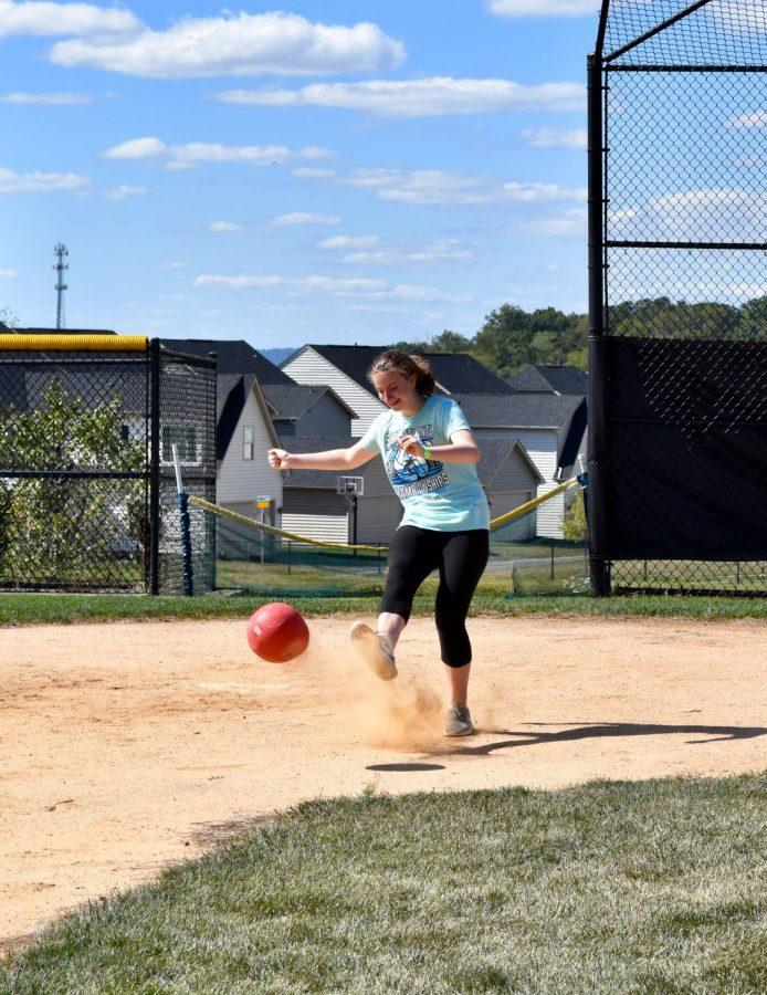 Students+loved+this+Friday%27s+kickball+game+%21