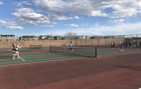 The tryouts for Girls Tennis