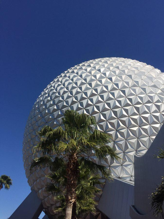 A clear and sunny day in Epcot