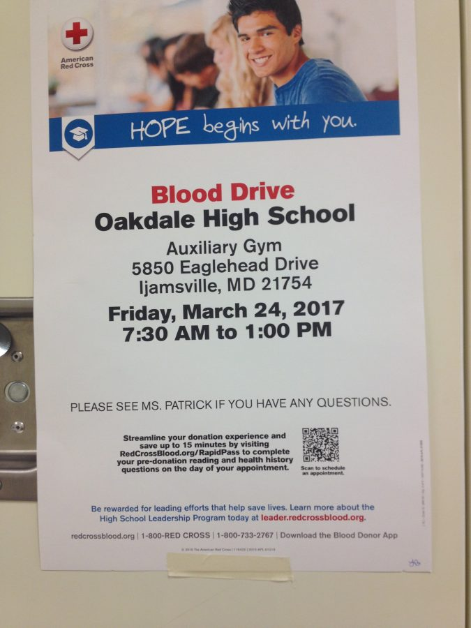 Oakdale+NHS+Hosts+Blood+Drive