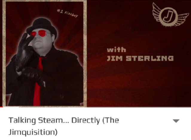 Jim Sterling, a popular Youtube personality, shared his talks with Val about the future of Steam.