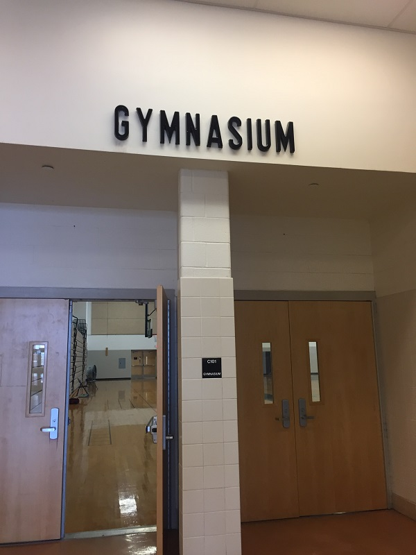 Oakdale's gymnasium, where some of the sporting magic happens