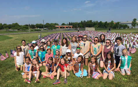Girl Scouts at Oakdale
