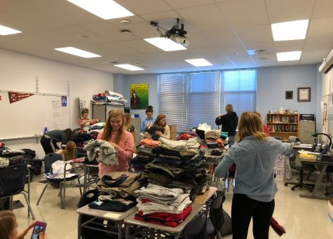 Clothing Drive for Leadership At Oakdale