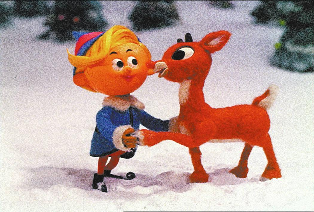 Rudolph with Hermey the Elf