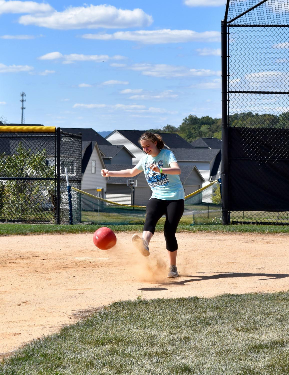 Students loved this Friday's kickball game !