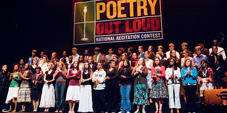 Poetry Out Loud Takes the Stage