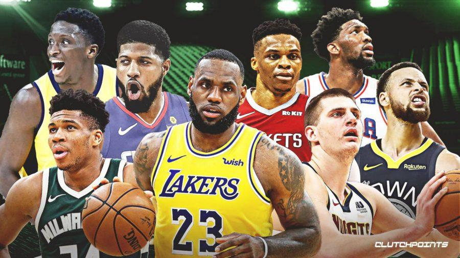 +Victor+Oladipo%2C+Paul+George%2C+Russell+Westbrook%2C+Joel+Embiid%2C+Giannis+Antetikunmpo%2C+Lebron+James%2C+Nikola+Jokic%2C+and+Steph+Curry%2C+ready+for+the+2019-20+season.