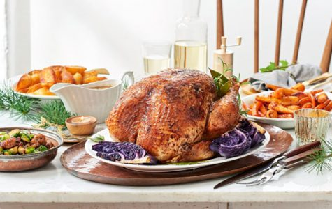 A typical American Christmas dinner looks like it could be spiced up with some diverse foods.