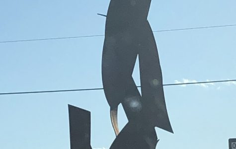 New Sculpture erupts in controversy from Oakdale students.