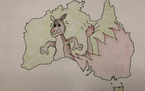 Australia Fires Burn On