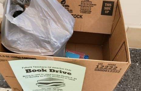 Future Teachers of America host book drive for local schools in need