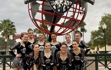 The Oakdale Dance Team at ESPN Sports Complex