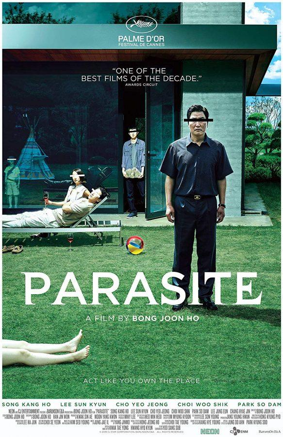 The poster for the film PARASITE