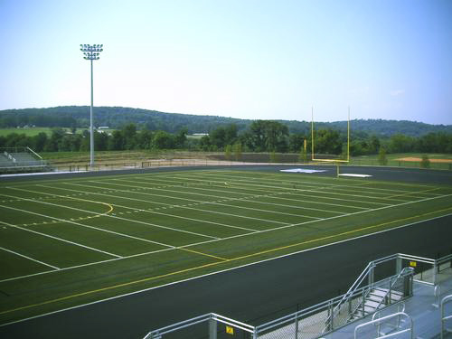 Oakdale high school track and stadium