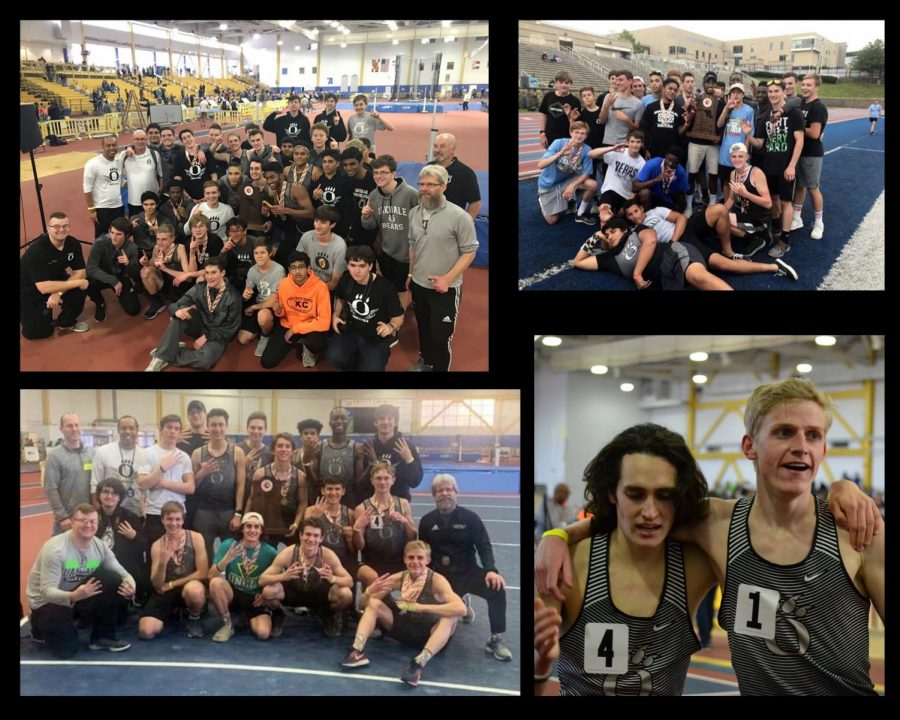 The+Oakdale+Boys+Track+Team+celebrating+victories++