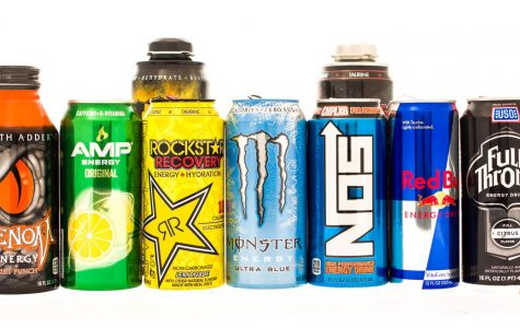 Just a few of many energy drinks that are out in the market.