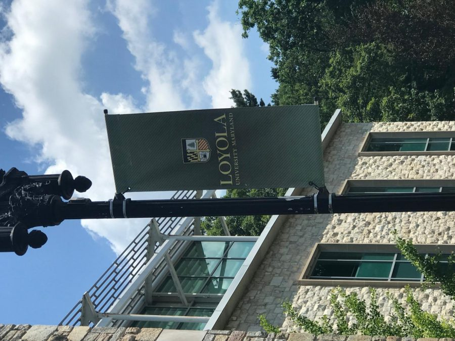 Loyola campus in July 2019 before COVID-19 cancelled in-person classes