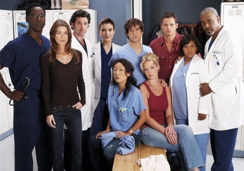 "The original cast members of ""Greys Anatomy,"" America's longest running primetime medical drama."