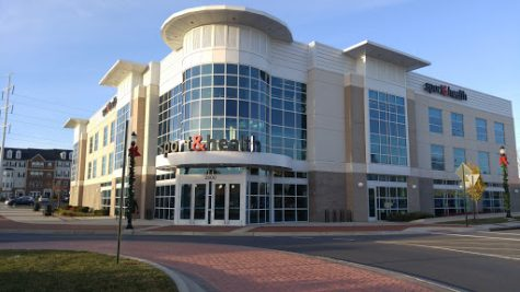 The front entrance of the popular One Life gym in North Frederick.