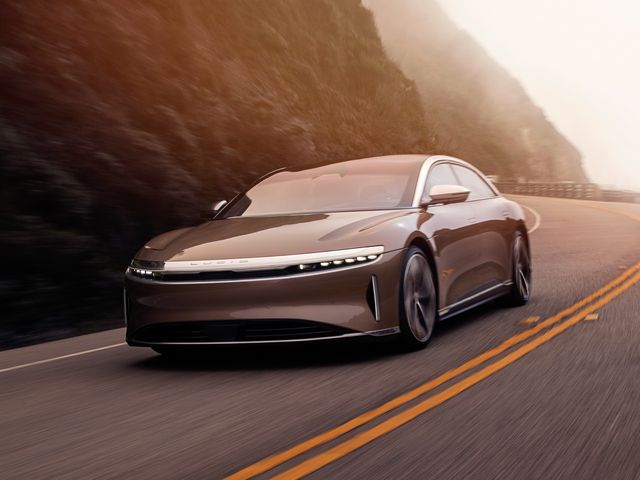 The new Lucid Air. Lucids startup car.