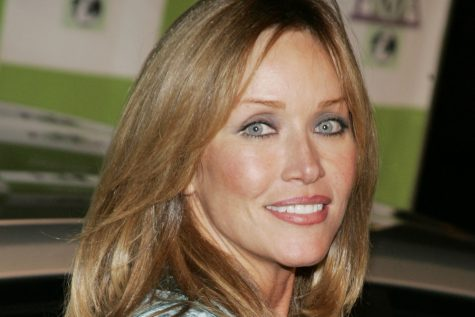 A picture of Tanya Roberts at an event she attended.