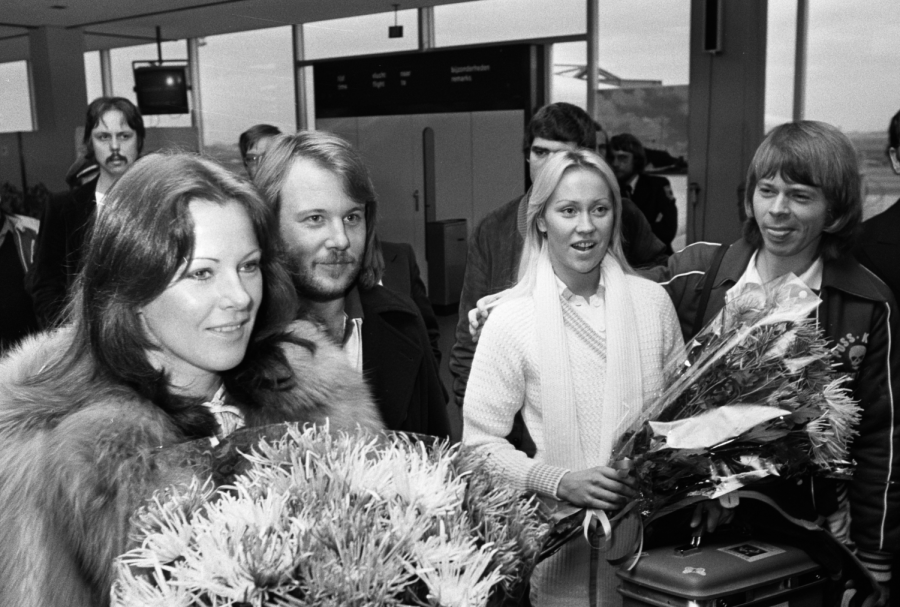 ABBA+a+popular+pop+group+from+the+70s+is+getting+ready+to+go+on+tour%2C+51+years+younger.