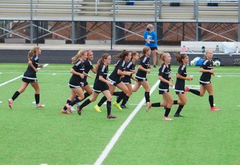 JV Girls Oakdale Soccer vs JV Girls Boonsboro Soccer, August 31, 2021, Oakdale High School Stadium Field.